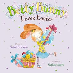 Yes, Betty Bunny loves Easter. She loves it so much that she just knows when she grows up, she will be the Easter Bunny. So it comes as quite a shock when she learns that her brothers and sister have been helping her in the egg hunt every year. Determined to find eggs on her own, this time, Betty Bunny also finds out a thing or two about the satisfaction of accomplishment.   Going it alone, Betty Bunny strikes again in the latest in her series, a funny Easter tale of independence.