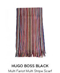 Seasonal Gifts for Him. Hats, Scarves and much more! Boss Black, Striped Scarves, Hugo Boss, Gifts For Him, Outdoor Blanket, Seasons, Hats, Men, Hat