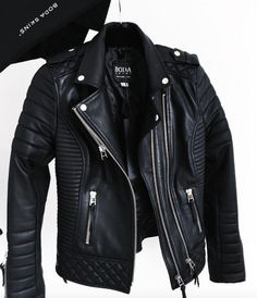 55 Chic Ways to Wear Leather wachabuy.com