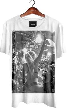 Camiseta Gola Básica - Party Girl