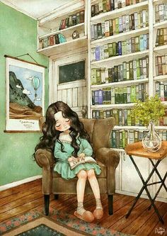 "Search results for ""illustrations books reading"" on Yandex. Cartoon Kunst, Cartoon Art, Art And Illustration, Forest Girl, Anime Art Girl, Cute Drawings, Cute Wallpapers, Cute Art, Watercolor Art"