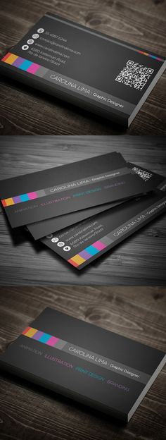 Creative Designer Business Card #businesscards #psdtemplates #printready
