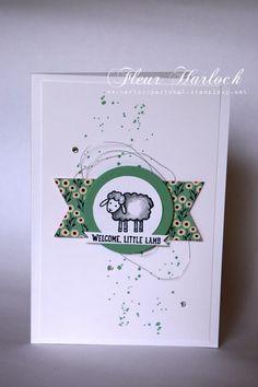 Gorgeous Grunge, metallic thread, Barnyard babies stamp set, Pretty Petals DS paper stack
