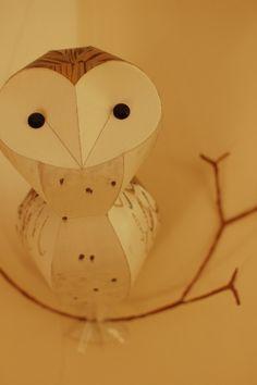 Paper Barn Owl by Kaper - Radiance