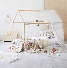 House Frame Floor Bed
