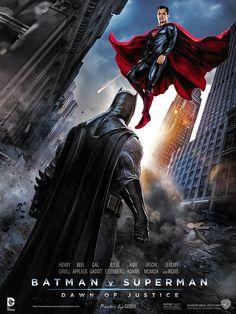 Batman v Superman : Dawn of Justice  Poster by GOXIII