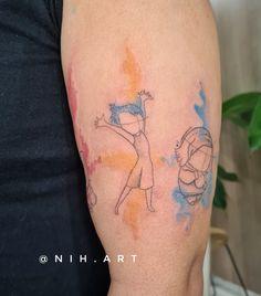 Tatuagem sketch: artistas brasileiros para você seguir! - Blog Tattoo2me Blackwork, Disney Stained Glass, Watercolor Tattoo, Sketch, Tattoos, New Tattoos, Tattoo, Artists, Sketch Drawing