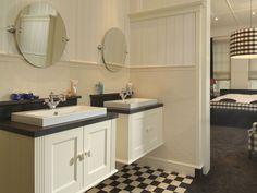 Design Inspiration, Huis Ideeen, Zwart Wit Tegels Hal, Bathroom Choice ...