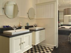 badkamer met witjes | badkamer | pinterest, Badkamer