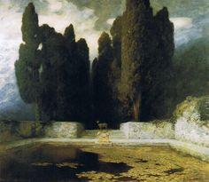 Ferdinand Keller - The Pool