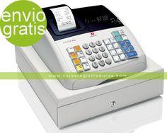 Caja Registradora Olivetti ECR 7700 PLUS - Nuevo Modelo con el doble de memoria tienda eBay de cajasregistradoras.com