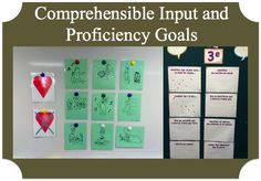 Foreign Language Comprehensible Input and Proficiency Goals