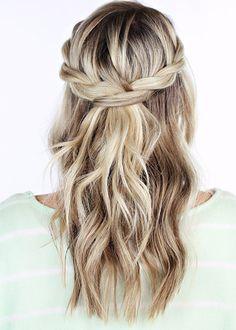 Brides: Braid Tutorials for Wedding Day Hair