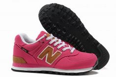 Joes New Balance 574 WL574BPR lovers Pink Brown Backpack Womens Shoes