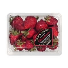 Walmart California Giant Strawberries, 32 oz (320 CAD) ❤ liked on Polyvore featuring food, fillers, food and drink, food & drinks, comida and backgrounds