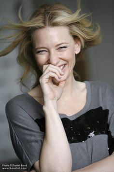 I believe that a lot of how you look is to do with how you feel about yourself and your life. Joy is the greatest beauty secret. You will fill me with joy in your presence. Cate Blanchett, Pretty People, Beautiful People, Patricia Highsmith, Famous Women, Famous People, Celebs, Celebrities, Best Actress