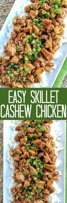 Easy Skillet Cashew Chicken - Together as Family