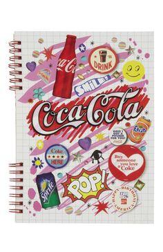 Coca Cola Note Book