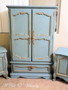 A Bit O' Whimsy: Glamorous Bedroom Set