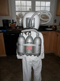 astronaut costume oxygen tank - Google Search