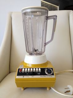 Vintage General Electric Insta Blend BLENDER with Auto Timer Works Well | eBay