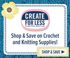 Save on Crochet and Knitting Supplies at CreateForLess! Knitting Supplies, Knitting Kits, Loom Knitting, Knitting Patterns Free, Free Knitting, Crochet Patterns, Free Crochet, Free Pattern, Harry Potter Scarf