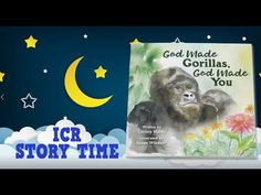 Join author Christy Hardy for ICR Story Time! Watch and listen as she reads her book God Made Gorillas, God Made You. Institute For Creation Research, God Made You, Science Resources, Popular Books, Inspirational Books, Story Time, Author, Make It Yourself, Reading