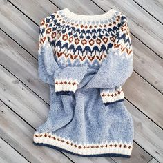 Knitting Stitches, Baby Knitting, Nordic Sweater, Icelandic Sweaters, Fair Isle Knitting, Knit Fashion, Knit Or Crochet, Comfortable Outfits, Modest Outfits