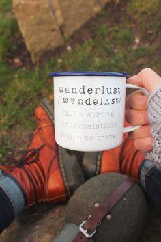 Wanderlust Enamel Ca