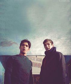 Scott and Isaac, teen wolf