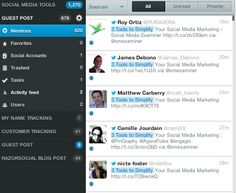MENTION- Social Media Monitoring Tool - How to use mention