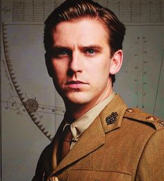 Matthew Crawley and the Return of the Intense Stare. Coming soon to a PBS station near you.