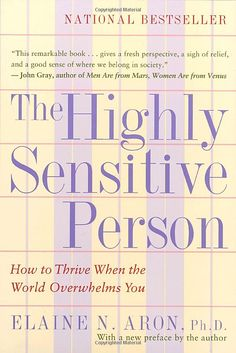 "Do you have a keen imagination and vivid dreams?  Is time alone each day as essential to you as food and water?  Are you ""too shy"" or ""too sensitive"" according to others?  Do noise and confusion quickly overwhelm you?  If your answers are yes, you may be a Highly Sensitive Person (HSP)."