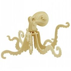 Puzzle Sea Animals Build It Yourself! Puzzles 3d, Wooden Puzzles, Laser Cutter Ideas, Brain Teaser Puzzles, Diy Toys, Wooden Diy, The Help, Inspiration, Laser Etcher