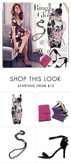 """""""Get the look - Eva Mendes - SheIn.com 6/1"""" by bebushkaj ❤ liked on Polyvore featuring Tiffany & Co."""