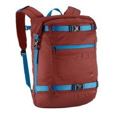 The North Face Pickford Rolltop Daypack Barolo Red HeatherBlue Aster ** Visit the image link more details.