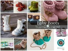 Baby Boots - 10 Crochet Patterns for Baby