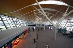 Shanghai Pudong Airport Termnal 2 by lyh1 ~ On & Off, via Flickr