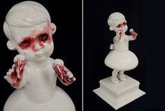 Porcelanas que sangram