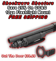 The GG&G Mossberg Shockwave Flashlight Mount was designed, tested and manufactured specifically for the Mossbeg Shockwave Shotgun. Call GG&G at or check it out on our website. Mossberg Shockwave, Combat Shotgun, Tactical Accessories, Muscle Up, American Made, Flashlight, Firearms, Specs, Science Fiction