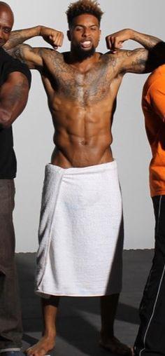 Odell Beckham Jr plz take tha towel off💦💦💋💋💋💋🍆🍆🍆