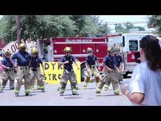 Dallas Firefighters Dancing for Dyrk! Station 26