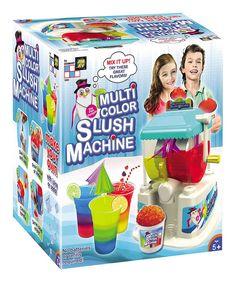 Loving this Slush Machine Set on #zulily! #zulilyfinds