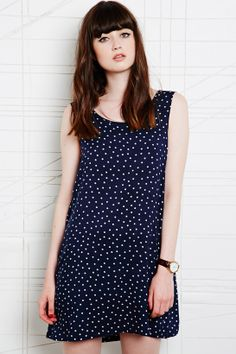 Vintage O&O Low Back Dress at Urban Outfitters