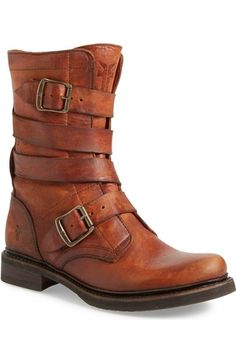 Frye 'Veronica' Tanker Boot (Women) available at #Nordstrom