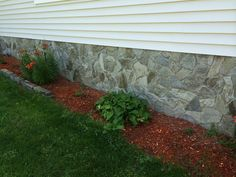 Add curb appeal by covering up your home's foundation with our stone veneers. Contact us at (888) 433-6010 for more information.