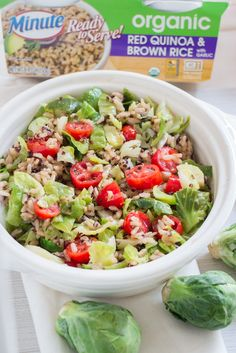 You'll love this take on a fresh summer salad with only 4 ingredients. Make it for a quick lunch on the go, or bring to your next summer BBQ! AD