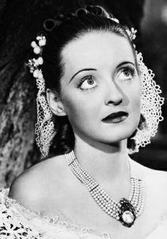 "11th Academy Awards - February 23, 1939. Bette Davis (1908-1989) winner of the Academy Award for Best Actress for ""Jezebel"""