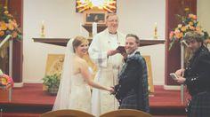 White Balloon Films / Church Wedding / Oran Mor Wedding / Wedding Videographer Scotland / Bride & Groom / Ceremony