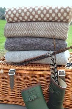 Ten tips how to create the perfect cosy country home using throws &…